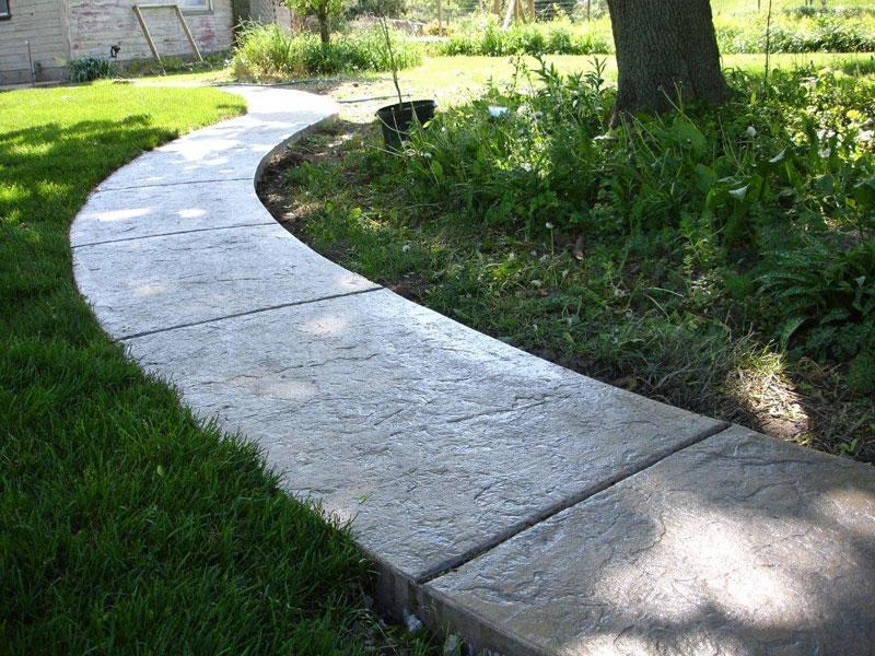 Tim Erlandson Concrete Specializing In Flatwork Stamped